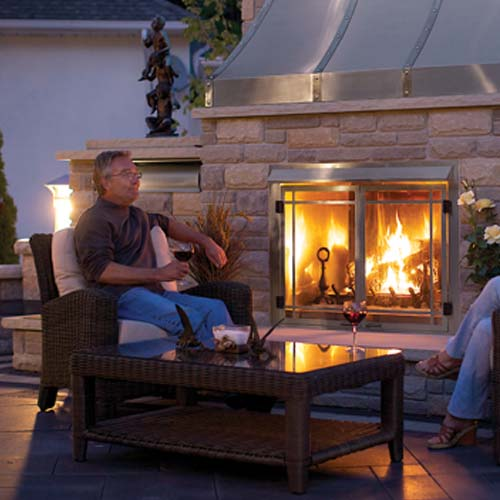 outdoor gas fireplace gss42 by napoleon fireplaces fireplaces outdoor