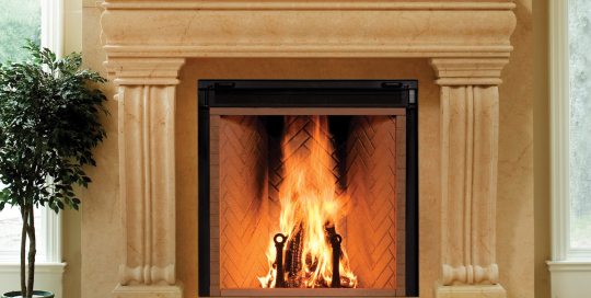 Wood fireplaces inserts stoves archives harding the for Rumford fireplace insert