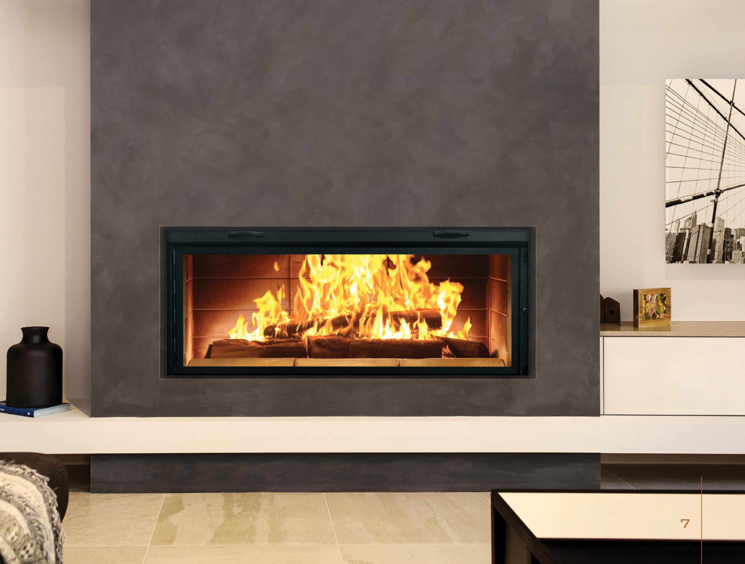 Wood fireplaces wood inserts wood stoves Contemporary wood burning fireplace inserts